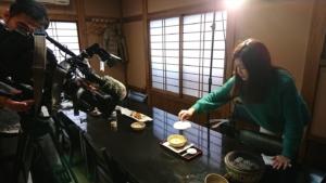 NHKにしの田が取材を受けました